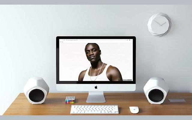 Akon New Tab & Wallpapers Collection