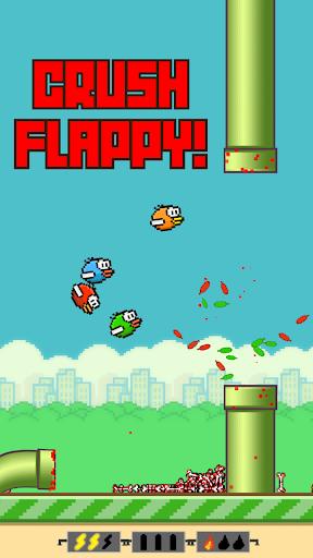 Flappy Crush  captures d'u00e9cran 1