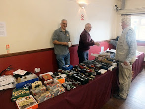 Photo: 009 Whilst on the other side of the entrance door, Bob Cope and colleague manned the 7mm NGA Second Hand sales department .