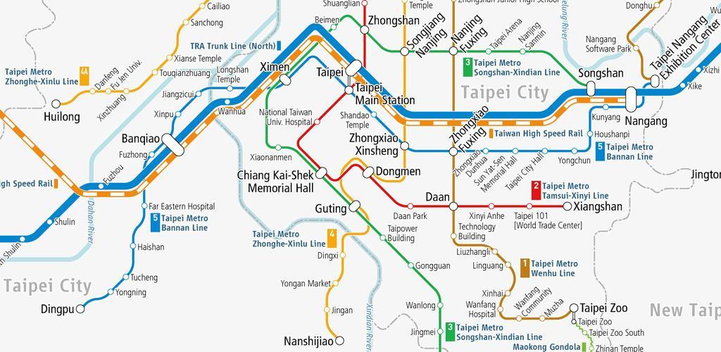 Télécharger Taiwan Rail Map - Taipei 2 3 2 Apk - jp tokyostudio