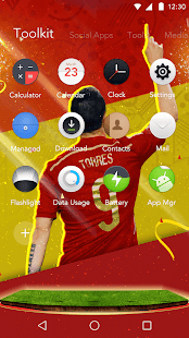 Spain Theme for Android FREE - náhled