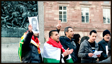 Photo: Those who protest in Europe, must not be afraid.