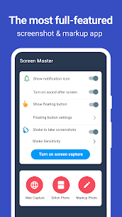 Screen Master Pro 1.6.8.7- pro Mod Apk Download 1