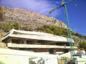 Photo: Vista general. Estructura concluida.