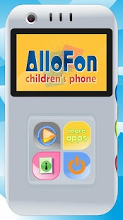 AlloFon - children's phone - náhled