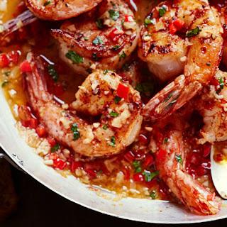 Garlic-Clove Shrimp