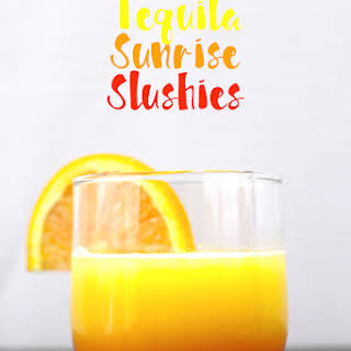 Tequila Sunrise Slushies (and VIDEO!).
