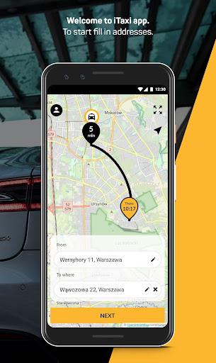 itaxi - the taxi app screenshot 3