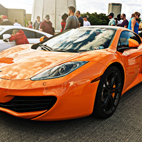 MP4-12C by Sam Reed - Transportation Automobiles ( orange, mp4-12c, mclaren, exotic, ohio, super car, columbus,  )