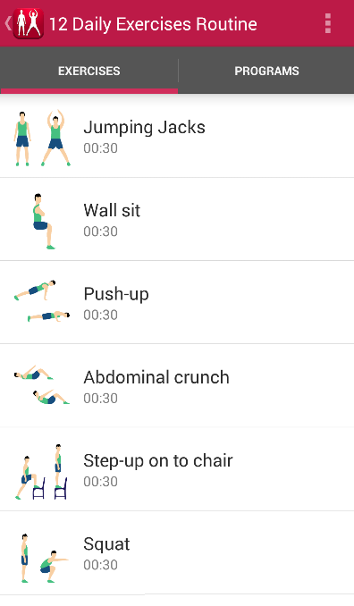 how to start an exercise routine at home