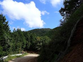 前方に大津山の鉄塔