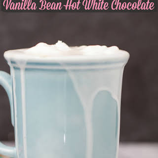 Vanilla Bean Hot White Chocolate.