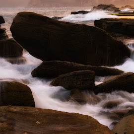 Smoky water by Amanda Daly - Novices Only Landscapes