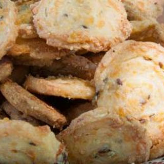 Cheese and Chive Biscuits.