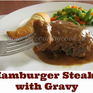 Hamburger Steaks and Gravy.
