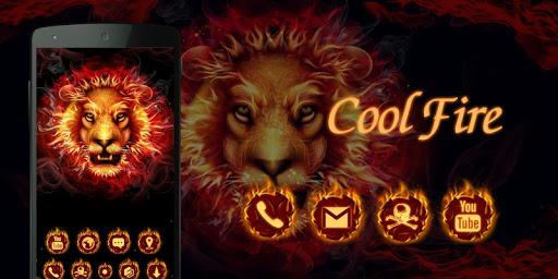 Cool Fire  GO Launcher Theme  screenshots 4