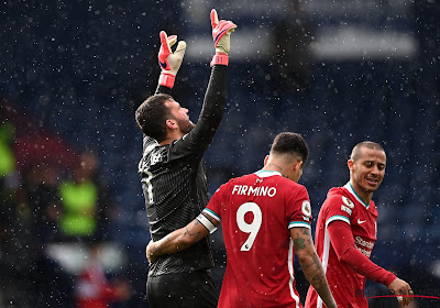 Premier League : Alisson offre la victoire à Liverpool contre West Brom
