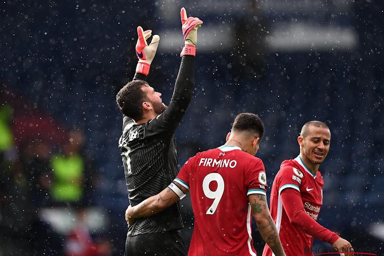 Premier League : Alisson offre la victoire à Liverpool contre West Brom
