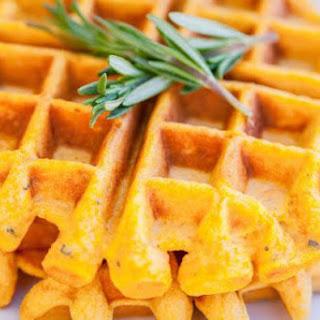 Sweet Potato and Rosemary Waffles