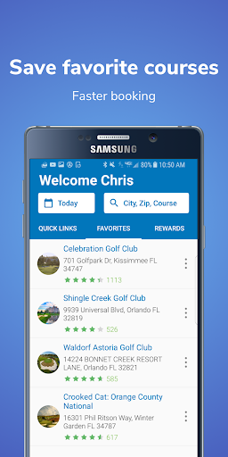 GolfNow: Tee Time Deals at Golf Courses ss2
