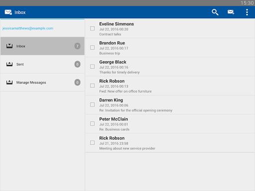 Business Class Email (BCE) screenshot 7