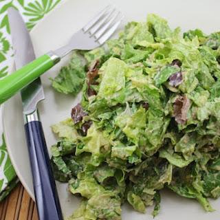 Vegan Caesar Salad Dressing.