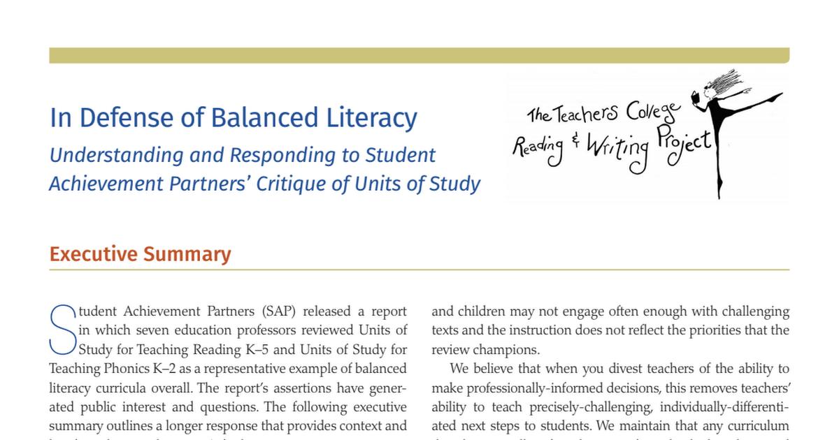 TCRWP In Defense of Balanced Literacy.pdf