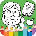 Bible Coloring Book - Story Coloring Page icon