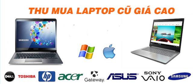 Thu Store thu mua laptop không hạn chế về số lượng