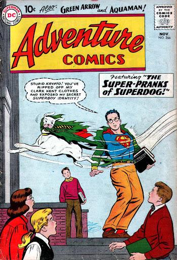 WC: ADVENTURE COMICS #266