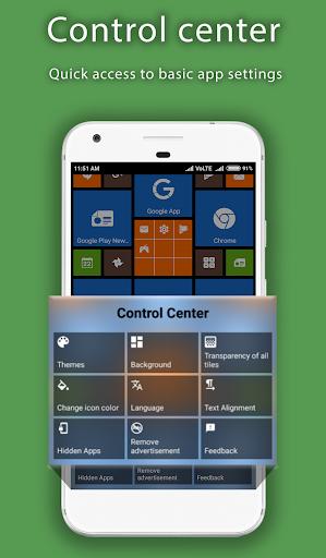 8.1 Metro Look Launcher 2018 - Theme, Smart, DIY 3.0 screenshots 19