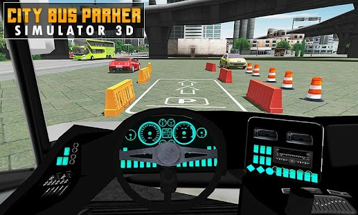 Bus Parking Driving Training School Simulator 2017 - náhled