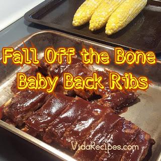 Fall Off the Bone Baby Back Ribs.
