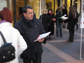 Photo: Il segretario generale della Cgil del Trentino, Paolo Burli