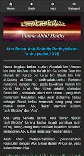 Biografi 120 Tokoh Ahli Hadis screenshot