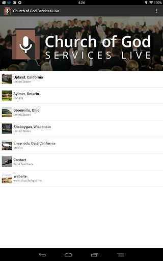 Church of God Services Live