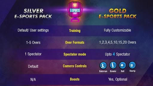 Code Triche WCC Rivals - Realtime Cricket Multiplayer APK MOD screenshots 4
