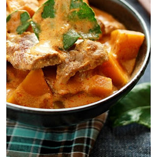 Beef Curry with Pumpkin.