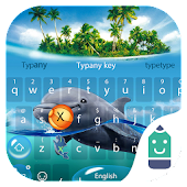 Dolphin Theme&Emoji Keyboard