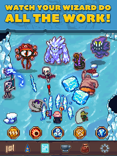 Tap Wizard RPG: Arcane Quest Screenshot