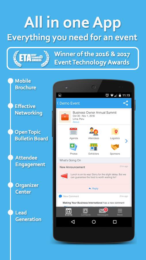 Whova - Networking at Events- screenshot