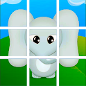 Slide puzzle for kids icon