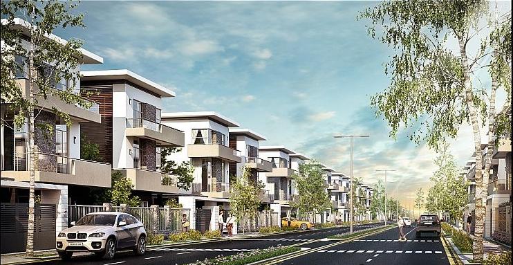 Nhà liền kề đô thị Thanh Hà Cienco 5