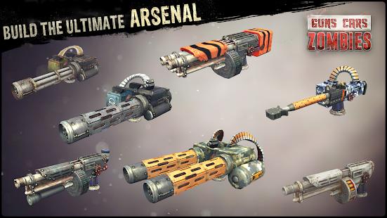 Guns, Cars, Zombies Screenshot