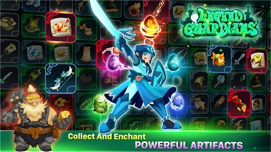 Legend Guardians: Epic Heroes Fighting Action RPG 2