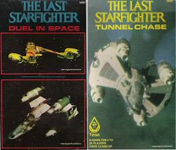 """Photo: FASA also released a couple of micro games based on The Last Starfighter: """"Duel in Space"""" and """"Tunnel Chase"""""""