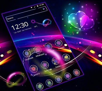 Neon Theme Icon Pack - náhled