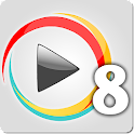 Yiki TV 8 Chinese Channel icon