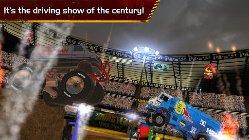 how to make a monster truck arena