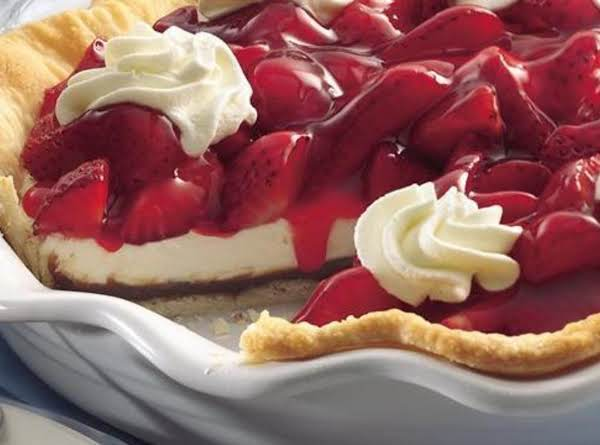 Strawberry Black Bottem Pie Recipe